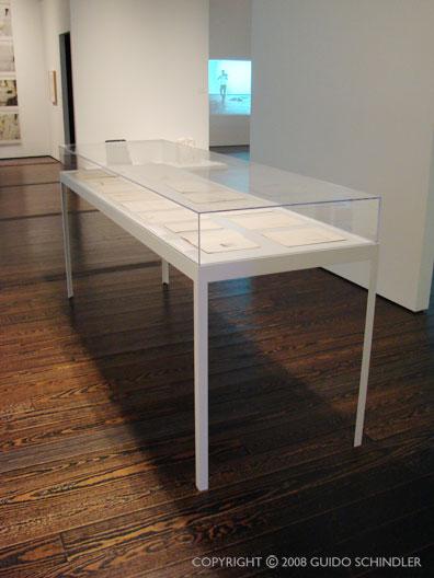 Menil Metal Display Tables