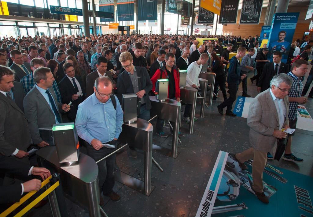AMB 2014 in Stuttgart - Messegeschehen auf der AMB 2014 in Stuttgart.