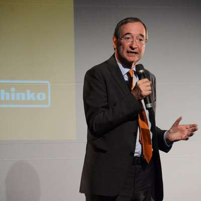 Schinko 25 Jahr Feier - Ansprache von Präsident der Wirtschaftskammer Österreich Dr. Christoph Leitl beim Festakt zur 25 Jahr Feier der Firma Schinko.