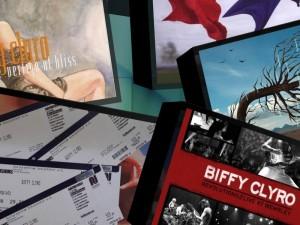 Biffy Clyro Collage