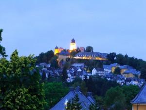 Schloss Montabaur - Blick von meiner Terrasse