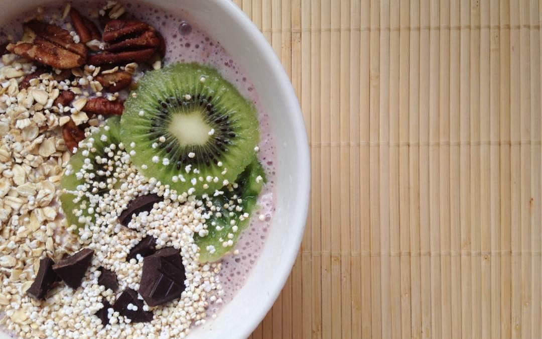 Inspiratie voor ontbijt: smoothiebowl