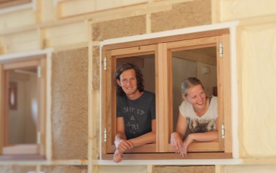 Shirly & Roy bouwen een Tiny House