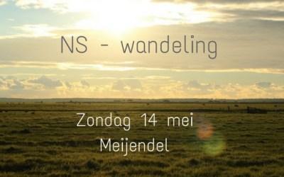 NS –  WANDELING | Wandel je met me mee?