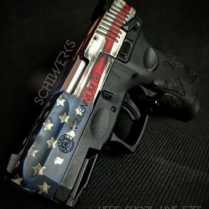 American Flag Battleworn