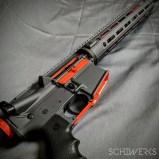 hunter orange accent cerakote