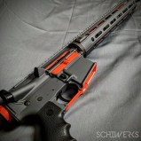 hunter orange accent cerakote