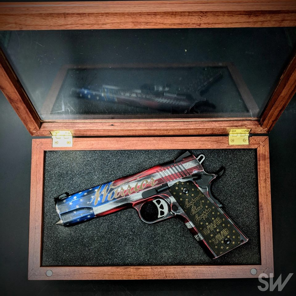 american warrior gun