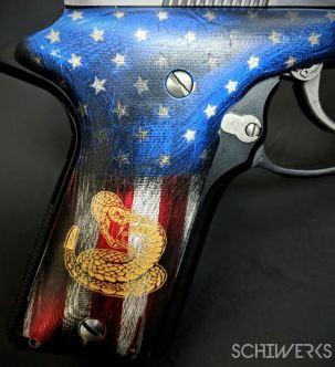 american flag snake cerakote