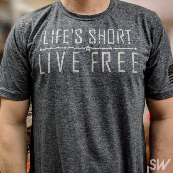 Life's short live free