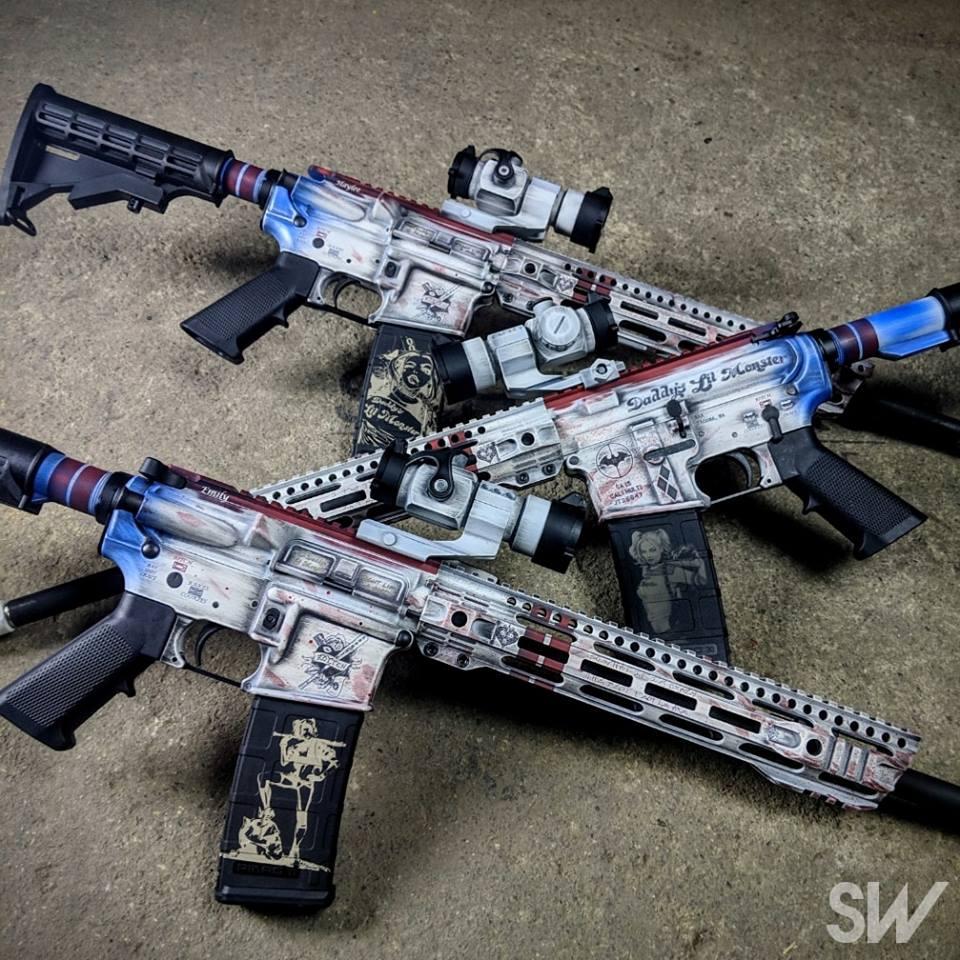 harlety quinn guns