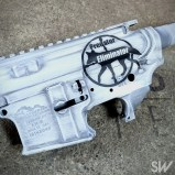 battleworn white ar