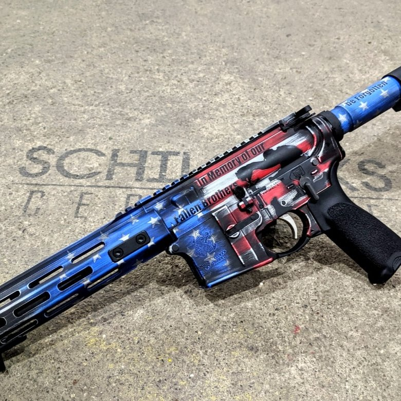 fallen soldier gun