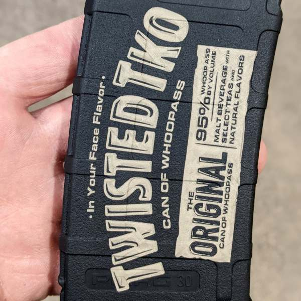 twisted tea lasered pmag