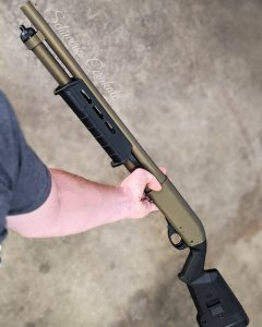 burnt bronze shotgun cerakote