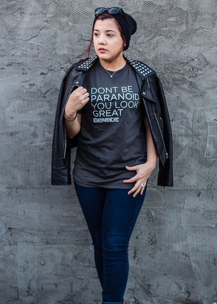 Dont be paranoid, you look great t-shirt 2