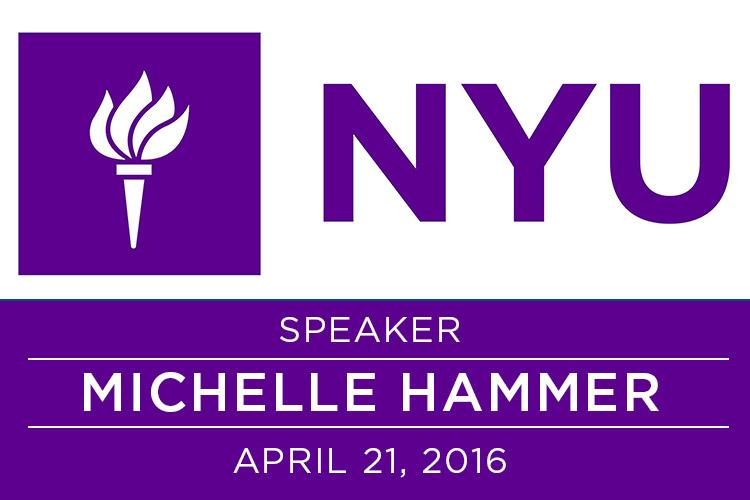 I will be speaking at nyu! 1