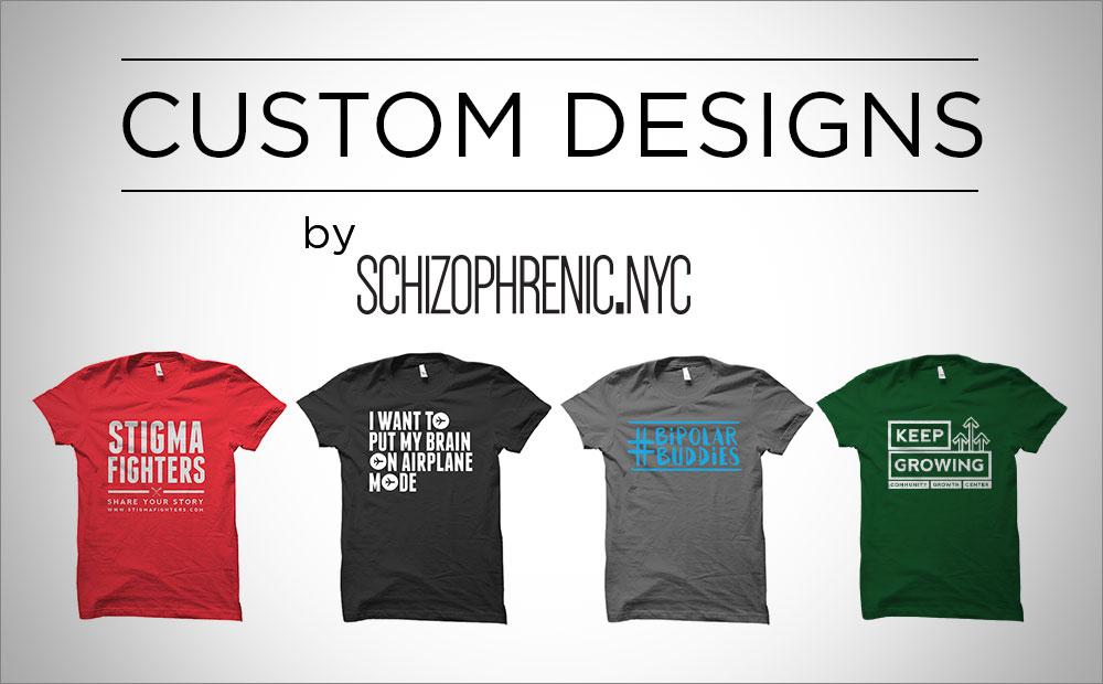 Custom Designs by Schizophrenic.NYC 1