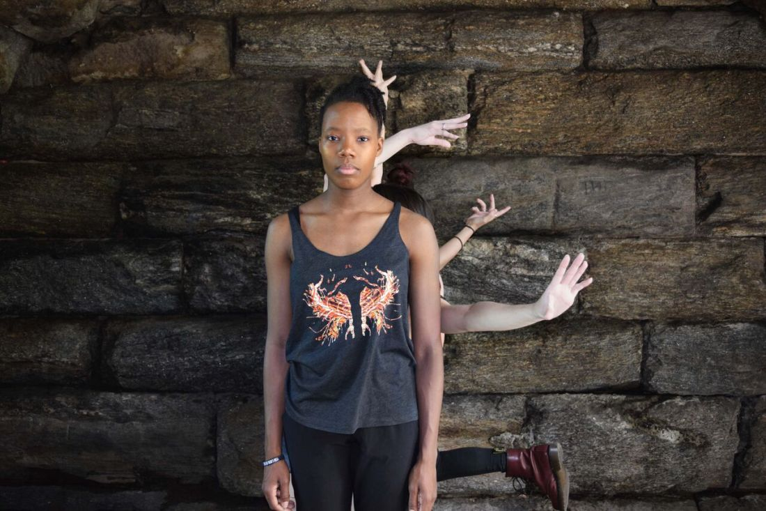 NYC's Borne Dance Company models Rorschach Designs by Schizophrenic.NYC 3