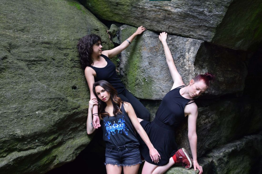 Nyc's borne dance company models rorschach designs by schizophrenic. Nyc