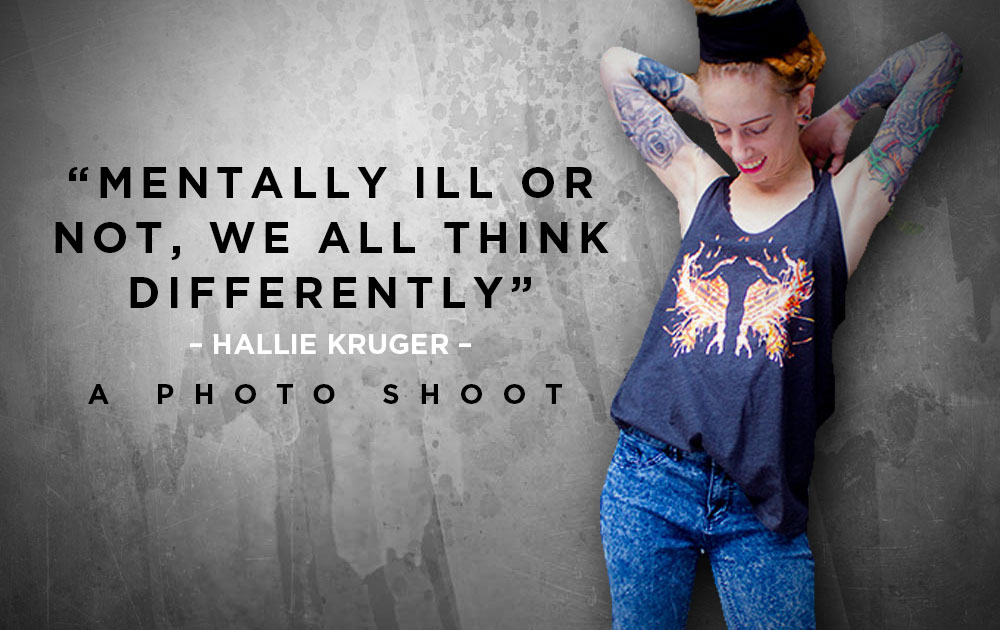Mentally ill or not, we all think differently - Photoshoot with Hallie Kruger. 125