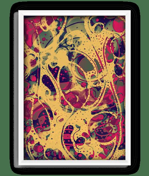 "Chlorine print - 18""x24"" 14"