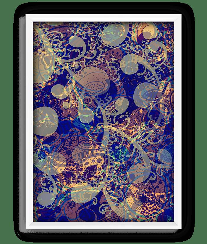 "Night print - 18""x24"" 1"