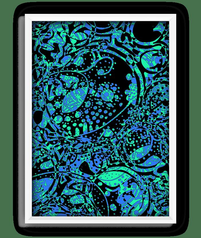 "Silence Print - 18""x24"" 1"