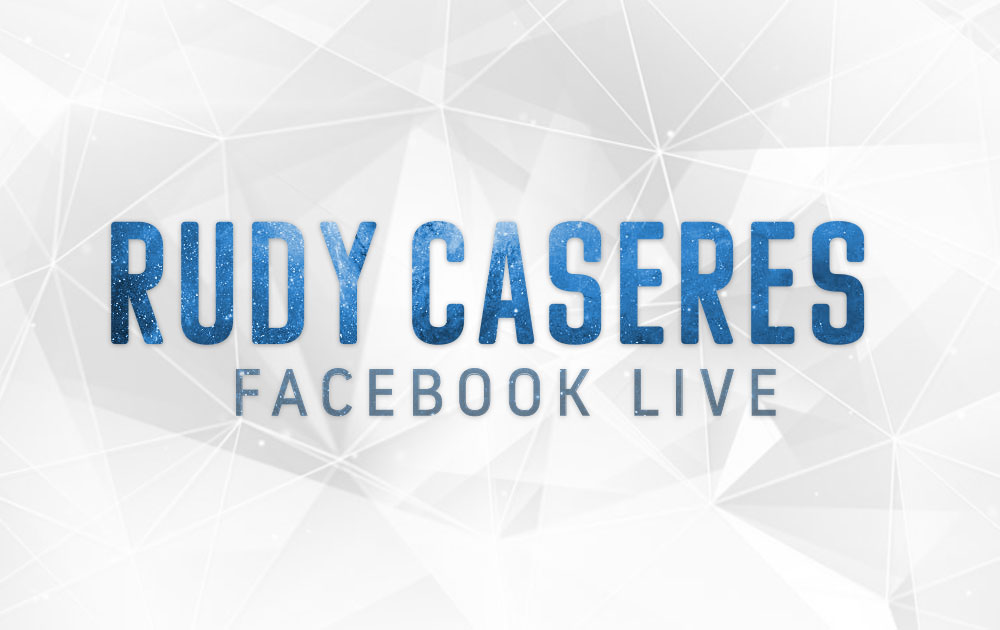 Facebook live with rudy caseres 109