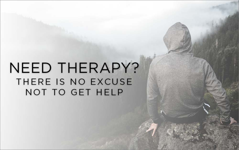 Need therapy? There is no excuse not to get help 90