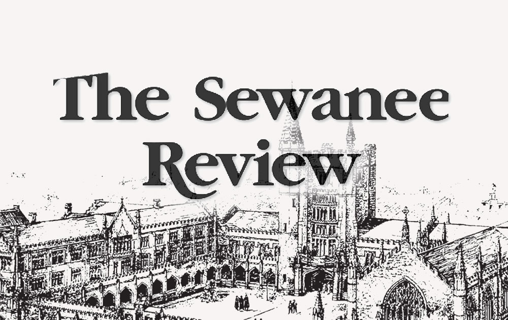 The sewanee review features schizophrenic. Nyc 23