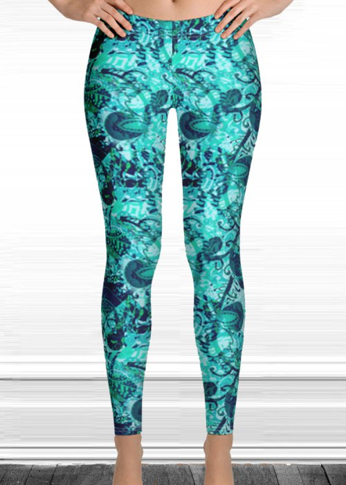 "Michelle's ""forever"" print leggings 3"