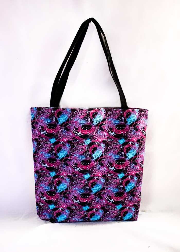 'Believe' style tote bag by Schizophrenic.NYC