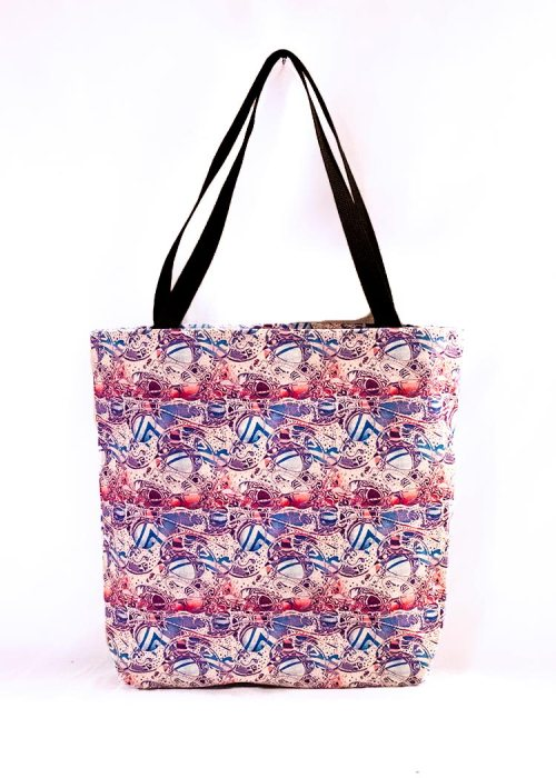 'Bleach' stye tote bag by Schizophrenic.NYC
