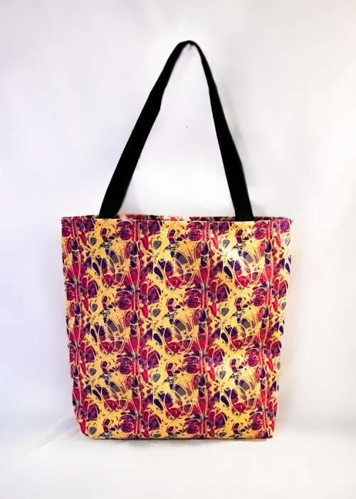 'chlorine' stye tote bag by schizophrenic. Nyc