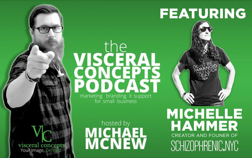 Visceral concepts podcast interviews michelle hammer