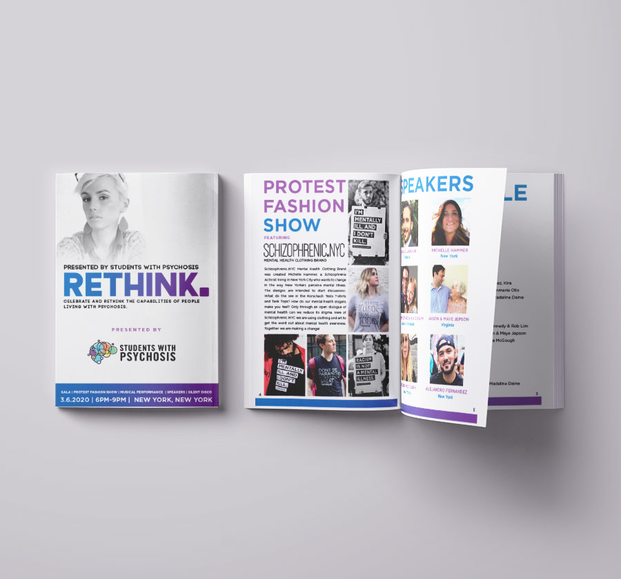 Rethink Gala design by Michelle Hammer