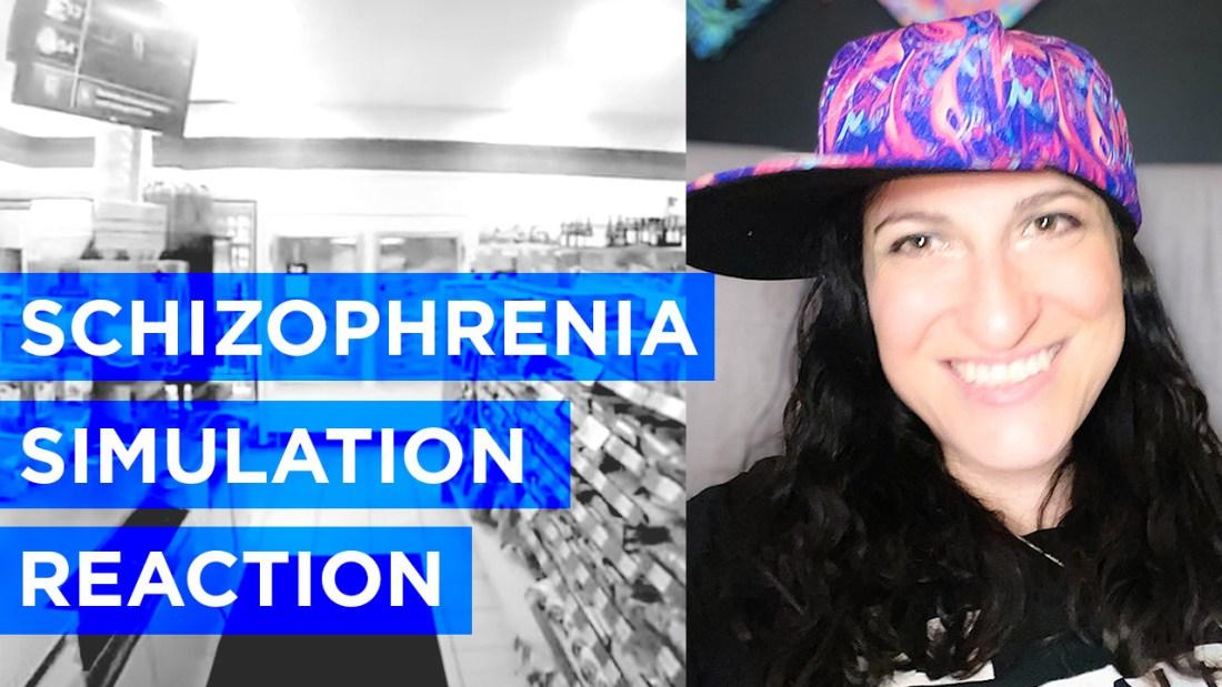 Schizophrenia simulation reaction