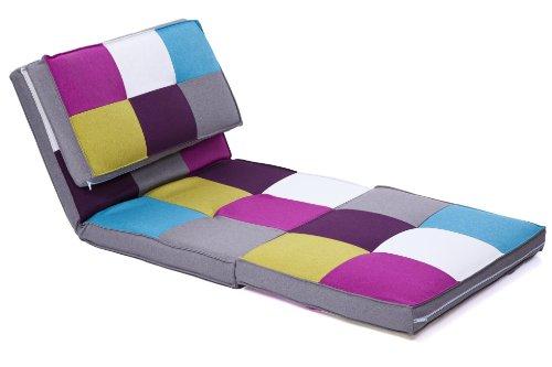 Gstebett Schlafsessel Klappmatratze in Multicolor Test