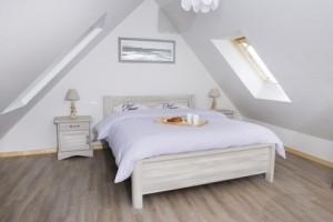 Schlafzimmer unterm Dach mit Schrgen einrichten
