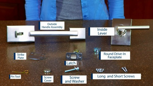Image Deadbolt Lock Parts Diagram Download