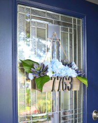 5 ways to embrace summer with front door decor