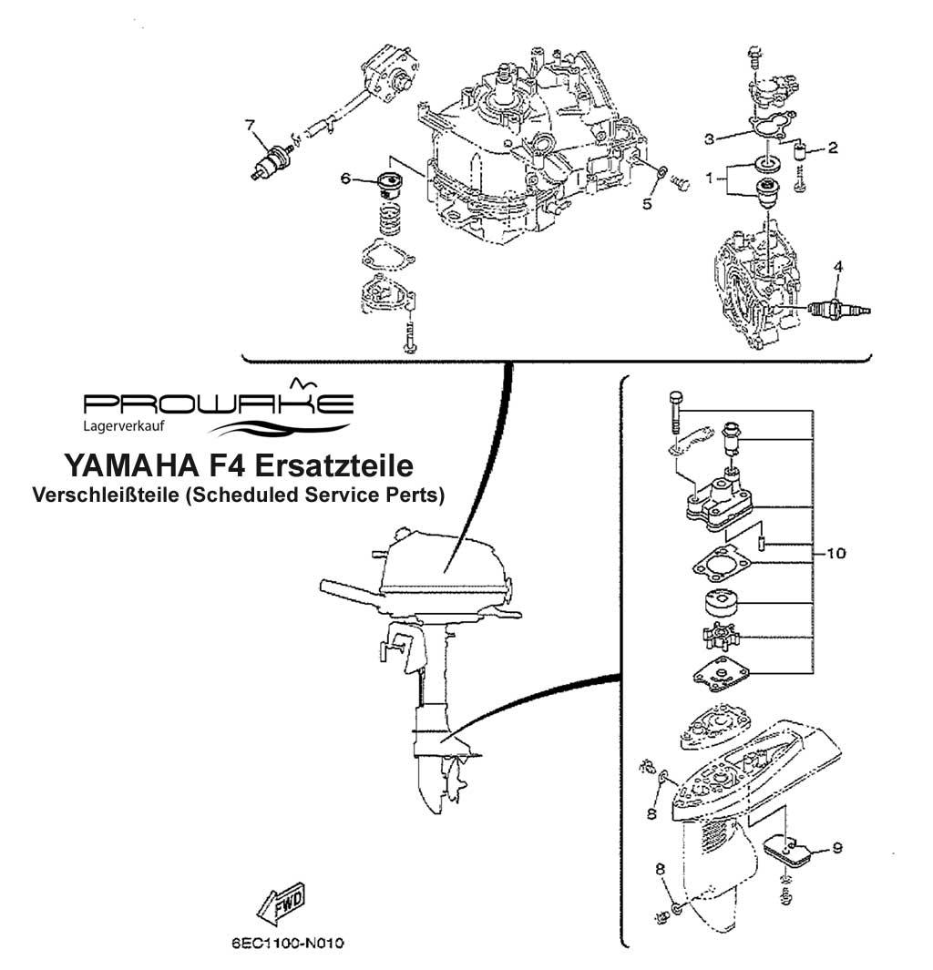 Lagerverkauf Yamaha Ersatzteil Gasket 2 69