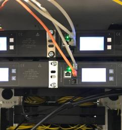 it is also possible to configure an inline meter as a half 19 inch model allowing two inline meters to be installed side by side in a server cabinet  [ 1278 x 722 Pixel ]