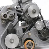 MENZER BSM 750 E Parkettschleifmaschine Motor
