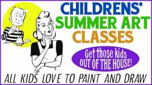 Summer Art Classes for Kids