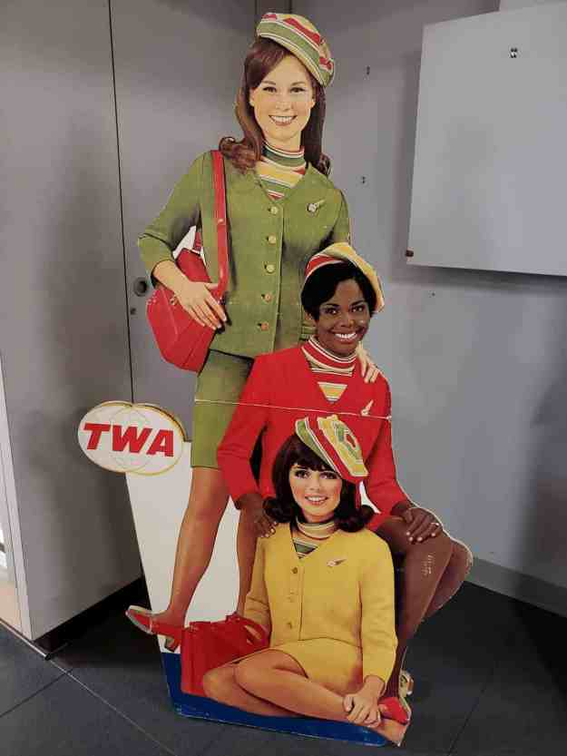 TWA hostesses