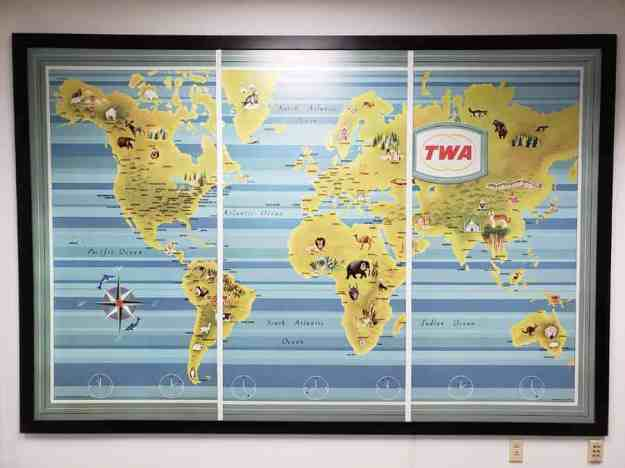 TWA Map