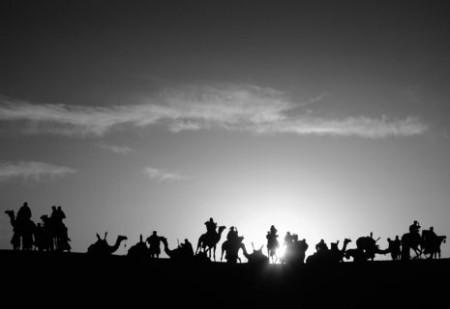 Szene aus dem Film »Woodstock in Timbuktu«, der zum Festivalauftakt im Kino Babylon gezeigt wird.