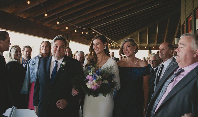 Spring Wedding Schlitz Audubon Aisle